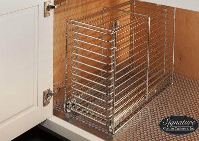 Under Sink Locking Storage